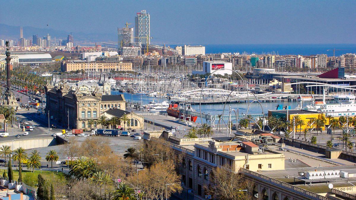 Hafen Barcelona - (c) eric immerheiser