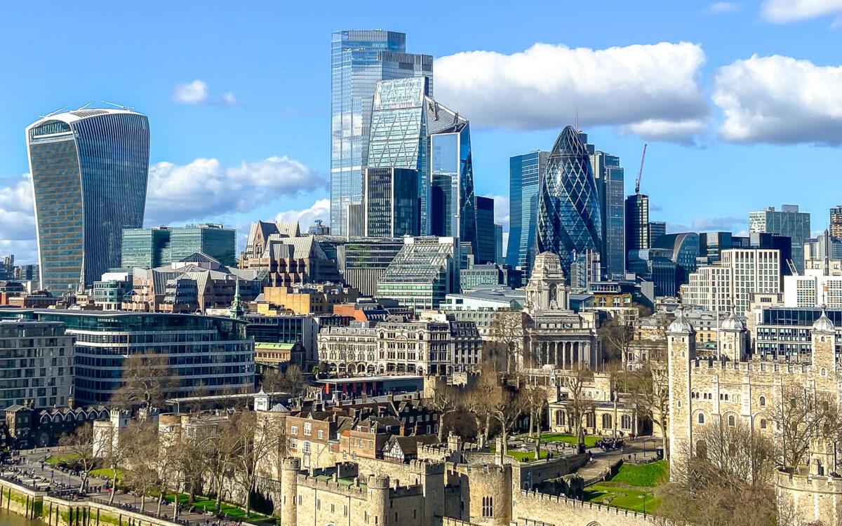 London Skyline - (c) eric immerheiser